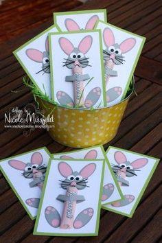 Schöne Bastelidee für Ostern und auch ein schönes persönliches Geschenk. Noch mehr Ideen gibt es auf www.Spaaz.de