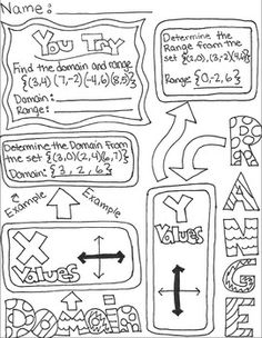 printable math worksheets domain and range mathworksheets4kids domain and range answers. Black Bedroom Furniture Sets. Home Design Ideas