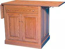 Add A Drop Leaf To Any Kitchen Island|50+ Ways To Personalize Your ·  Hardwood FurnitureAmish FurnitureKitchen IslandPittsburgh
