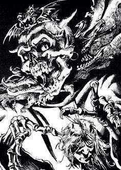 Zanbar Bone from City of Thieves. Illustration by Iain McCaig.