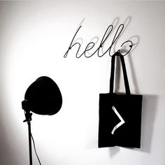 Affordable Design Finds - Hello & Love Coat Racks | Decorative typographyartthat doubles up as acoat rack. How cool is that!