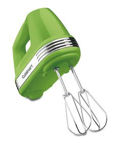 Take a look at this Cuisinart Lime Green Seven-Speed Hand Mixer by Cuisinart on #zulily today!