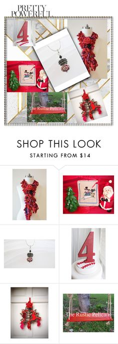 """Red"" by therusticpelican ❤ liked on Polyvore featuring rustic"