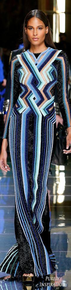 Balmain SS2017 Women's Fashion RTW presented during Menswear Runway | Purely Inspiration