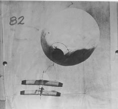 April 29, 1905: Daniel Maloney is launched by balloon in a tandem-wing glider designed by John Montgomery to an altitude of 4,000 feet before release and gliding and then landing at a predetermined location as part of a large public demonstration of aerial flight at Santa Clara, California.