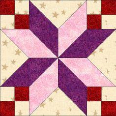 star quilt blocks free patterns | Quilters Corner Club