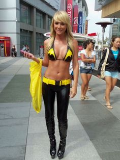 Next years halloween costume if i get my ass to the gym everyday; 'Batgirl' costume