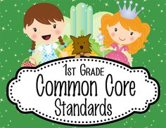 WIZARD of OZ theme 1st Grade Common Core Standard posters / I CAN format / JPEGS / MS Word / ELA and MATH / blank cards to make your own Science & Social Studies / Use JPEGS to print different sizes or insert JPEG into PowerPoints, worksheets you create or Interactive notebooks / ARTrageous Fun
