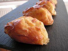 Mini madeleines lardons reblochon
