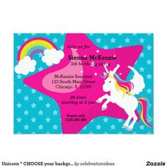 Sold #Unicorn #fantasy #horse #partyset Available in different products. Check more at www.zazzle.com/celebrationideas