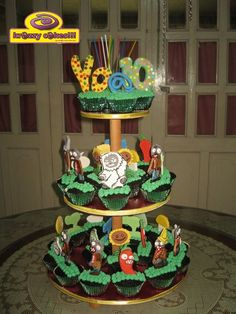Plants Vs. Zombies Cakes and Cupcakes