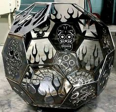 """Obtain wonderful tips on """"outdoor fire pit designs"""". They are accessible for you on our web site. Diy Fire Pit, Fire Pit Backyard, Fire Pits, Dragon Fire Pit, Fire Pit Chimney, Diy Welding, Welding Ideas, Welding Table, Fire Pit Essentials"""