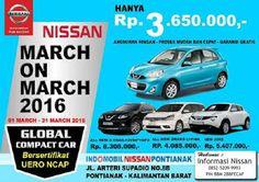 Promo Nissan March cicilan ringan Rp 3.650.000 perbulan dan model lainnya