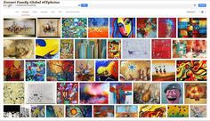 La più grande arte ispira gli artisti Famiglia Ferrari. - #Famiglia #Ferrari #artworks #FFartworks #arte