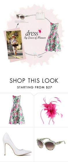 """""""Dress by Grace of Monaco"""" by visiondirect ❤ liked on Polyvore featuring Chicwish, Dolce&Gabbana, Prada, Dolce, sunglasses and NicoleKidman"""