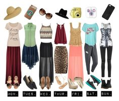 """Weeks Wear-Quick picks"" by beautyandstylefox ❤ liked on Polyvore"