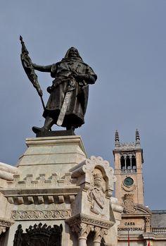 Estatua de Pedro Ansúrez en #Valladolid