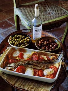 Some of my favorite foods, I'm dying to get a taste of southern French and Mediterranean influences