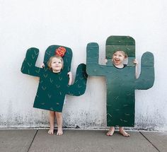 Cacti cutouts for kids