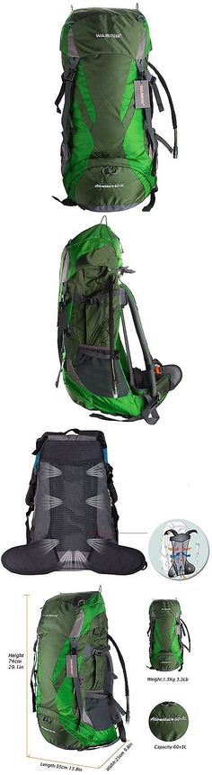Other Camping Hiking Backpacks 36109: Wasing 65L Internal Frame Backpack For Outdoor Hiking Travel Climbing Camping Mo -> BUY IT NOW ONLY: $36.02 on eBay!