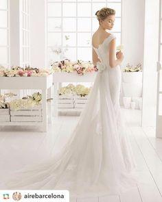 Elegante y sobrio Genial para novias clásicas!... #wedding #weddings
