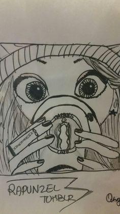 #drawing  #rapunzeltumblr
