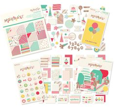 Today's Peachy Cheap deal is a NEW My Minds Eye Hooray Kit for ONLY $12.99 today!