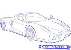 Mountain Living, Car Drawings, Car Sketch, Ferrari, Sketches, Cars, Vehicle, Drawings, Drawings Of Cars