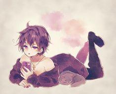 Neko Boy, Cute Anime Guys, Otaku, Kirito, Boys Hoodies, Kokoro, Drawing People, Anime Characters, My Idol