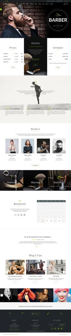 Beauty Hair Salon is wonderful multipurpose 5 in 1 WordPress #Theme for Hair Salon, #Barber Shop or Beauty Salon website download now➝ https://themeforest.net/item/beauty-hair-salon-theme-for-hair-salon-barber-shop-and-beauty-salon/15344439?ref=Datasata