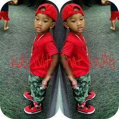 Luv lil man's style..  Kids fashion