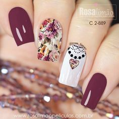 29 best summer floral and butterfly nails – 18 We have chosen the most fashionable nails for this summer. Pastel Nails, Cute Acrylic Nails, Cute Nails, Pretty Nails, Colorful Nails, Wow Nails, Glam Nails, Beauty Nails, Gelish Nails