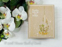 Houses Built of Cards: Beautiful Gold Terrarium - Simon Says Stamp Friend...