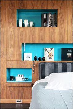 tete de lit arty avec niche