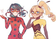 """charamells: """"Ladybug and Queen Bee """""""