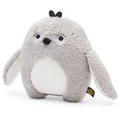 #Noodoll - knuffel - Ricekating - pinguïn - grijs #softtoy #kidsroom #toys #cuddletime #penguin #littlethingz