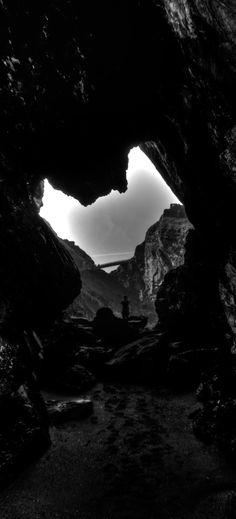 Sea Caves - Tintagel, Cornwall.
