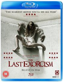 Last Exorcism Horror film. Guilt-ridden evangelical minister Reverend Cotton Marcus (Patrick Fabian) invites a documentary crew to make a film revealing the deceptive practices behind the exorcism rituals from whic http://www.MightGet.com/january-2017-12/last-exorcism.asp