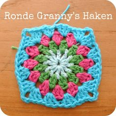 Sew Natural Blog: Ronde Granny's HaakPatroon