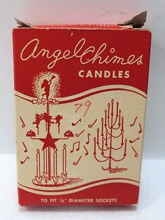 Vintage Angel Chimes Candles...I had one of these...really like it. In fact I think I still do...bh
