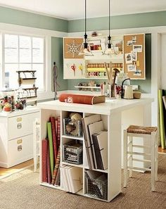 59 Best Design Craft Room Images Work Spaces Home Office