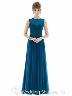 Alfred Sung Bridesmaid Dress D677