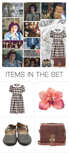 """Song Ji-Won (Park Eun-Bin)"" by elliewriter ❤ liked on Polyvore featuring art"