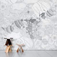 Carta da parati Wholearth #wallpaper #homedecor #cartadaparati #design