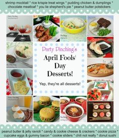 April Fools' day imposter food pranks that are easy and fun to make for kids. Fun tricks for your friends co-workers and family.