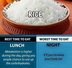 Eat Right. Check out the best times to eat it! Weight Loss Eating Plan, Diet Plans To Lose Weight, How To Lose Weight Fast, Losing Weight, Healthy Tips, Healthy Recipes, Healthy Food, Healthy Choices, Healthy Hair