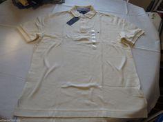 Mens Tommy Hilfiger Polo shirt XXL xxlarge solid NEW 7848707 Ivory Coast 141 #TommyHilfiger #polo