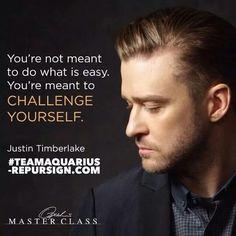 Justin Timberlake #teamaquarius