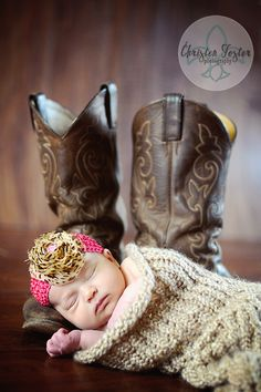 Have to get this done with baby emma, only 12weeks to go...to cute with a big orange bow to match daddys boots!