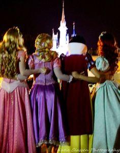 Goodnight  Aurora. Rapunzel. Snow White. Ariel
